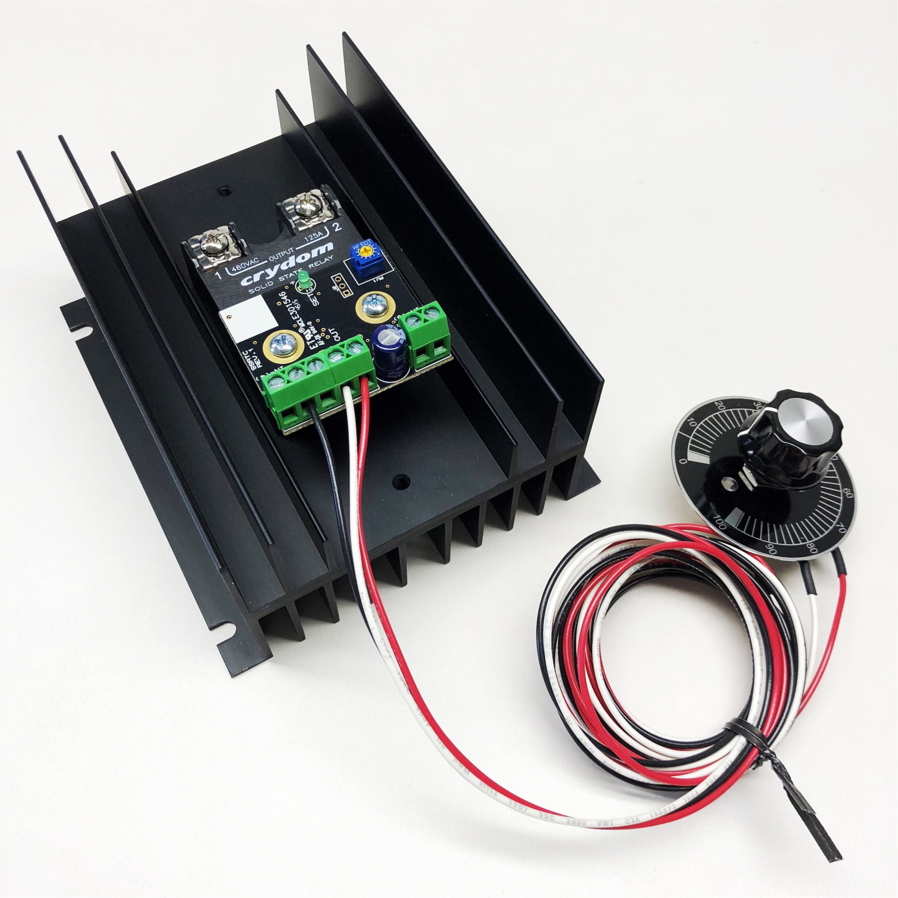 Integrated Temperature SCR Power Controller