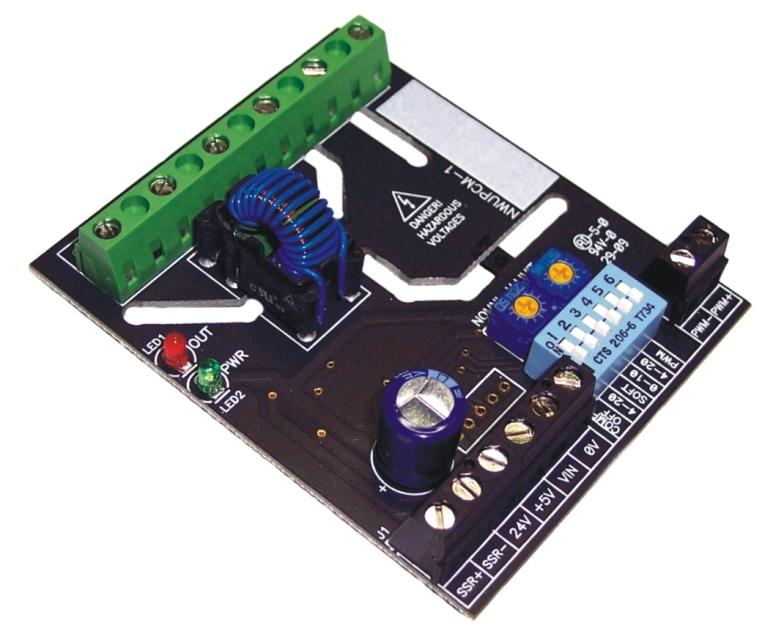 Time Proportioning SCR Driver Board
