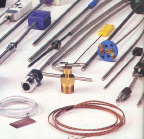 Thermocouple probe assemblies