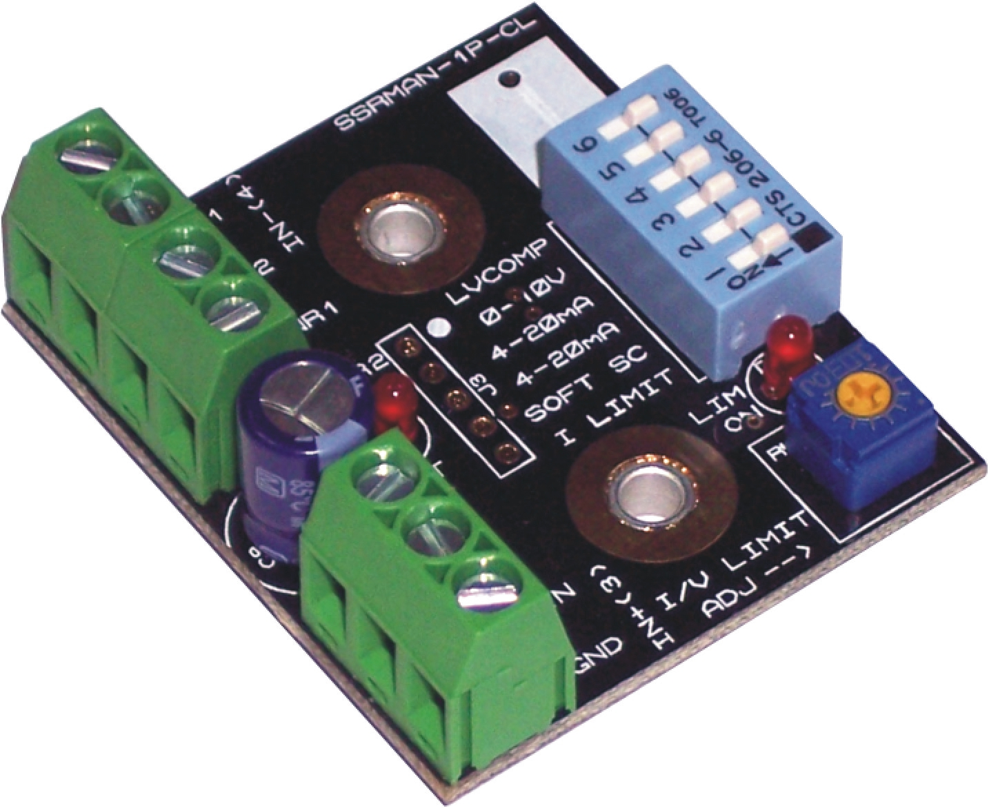 Solid State Relay Phase Angle Controller Current Limit & Soft Start